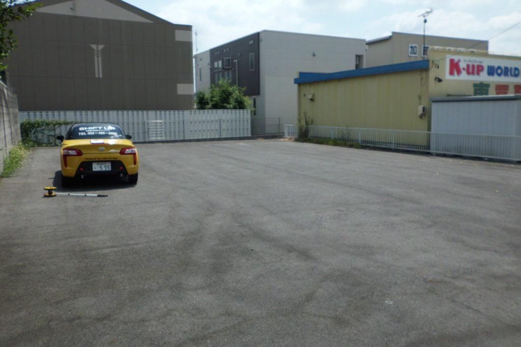 運送業の駐車場